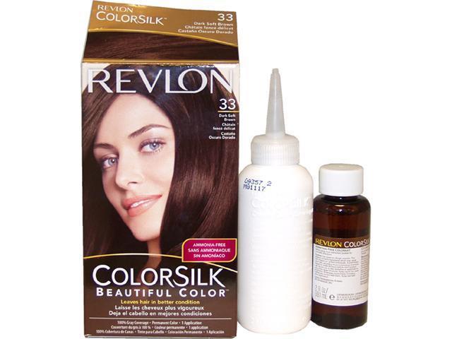 colorsilk Haircolor #33 Dark Soft Brown 3WB - 1 Application Hair Color