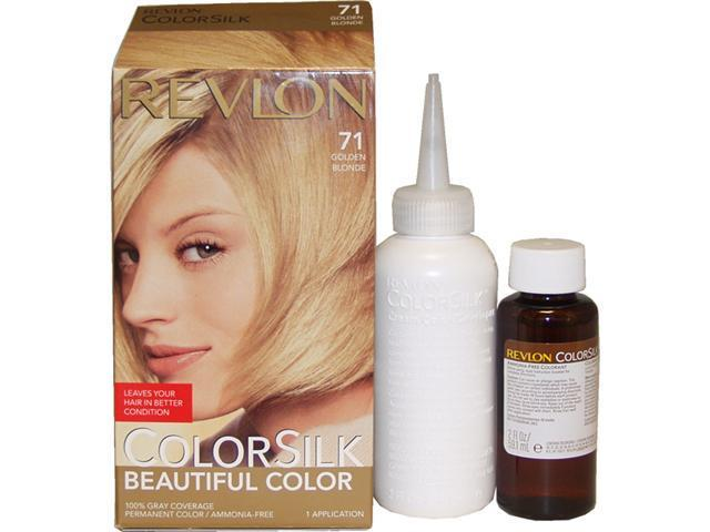 colorsilk Beautiful Color #71 Golden Blonde - 1 Application Hair Color