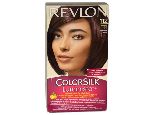colorsilk Luminista #112 Burgundy Black - 1 Application Hair Color