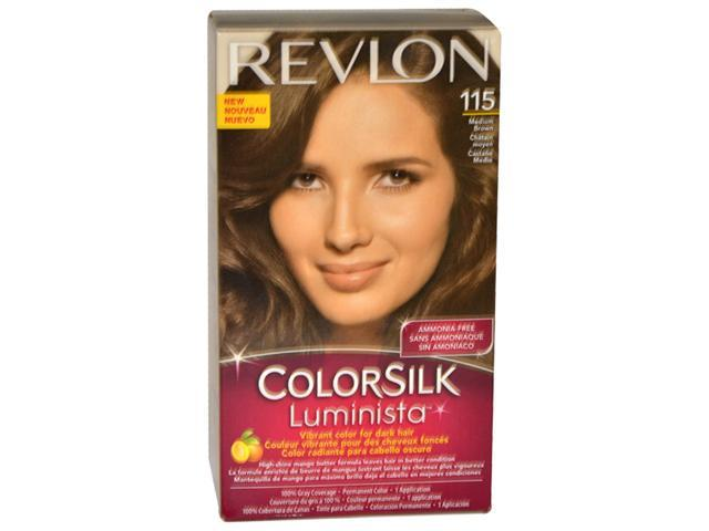 Colorsilk Luminista #115 Medium Brown by Revlon for Women - 1 Application Hair Color
