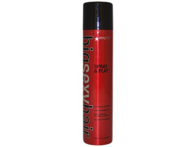 Big Sexy Spray & Play Hair Spray Regular by Sexy Hair for Unisex - 10.6 oz Hair Spray
