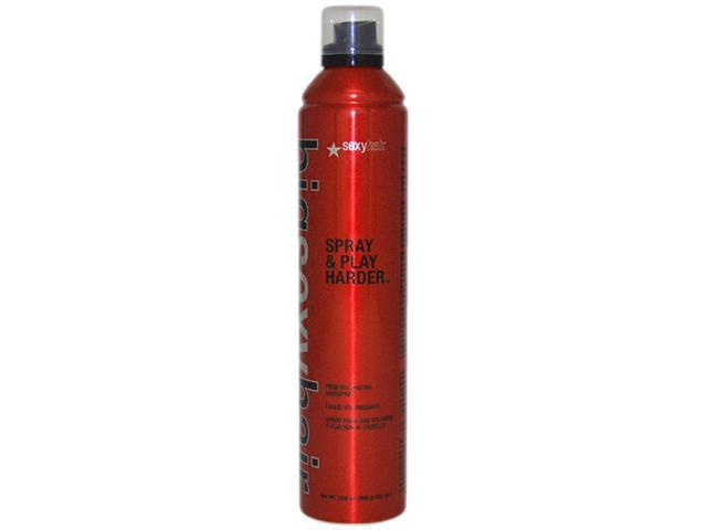 Big Sexy Hair Spray & Play Harder Hair Spray by Sexy Hair for Unisex - 10.6 oz Hair Spray