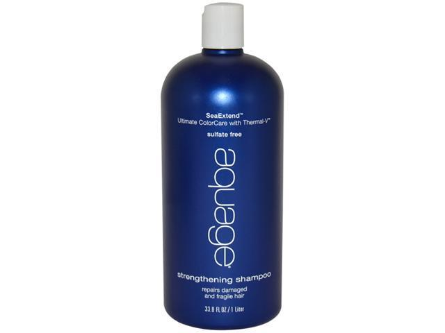 SeaExtend Ultimate ColorCare with Thermal-V Strengthening Shampoo by Aquage for Unisex - 33.8 oz Shampoo