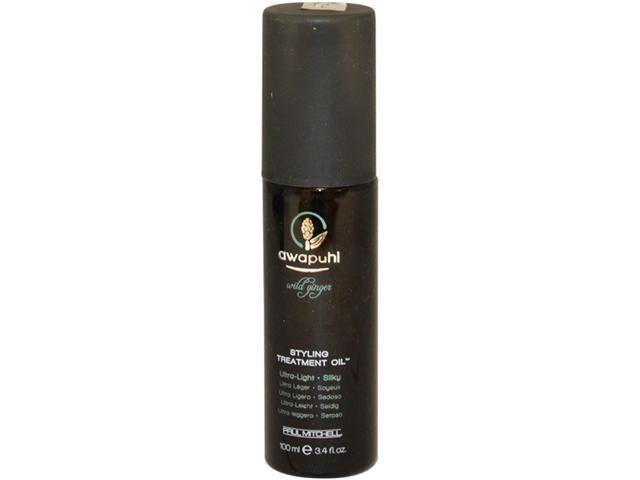 Awapuhi Wild Ginger Styling Treatment Oil by Paul Mitchell for Unisex - 3.4 oz Oil