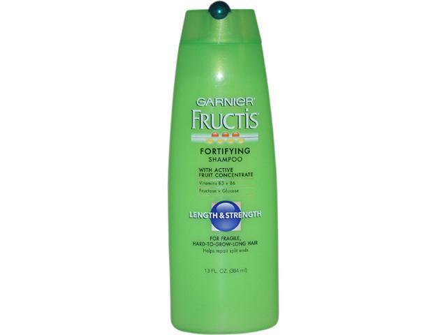 Fructis Fortifying Length & Strength Shampoo For Fragile Hard To Grow Long Hair by Garnier for Unisex - 13 oz Shampoo