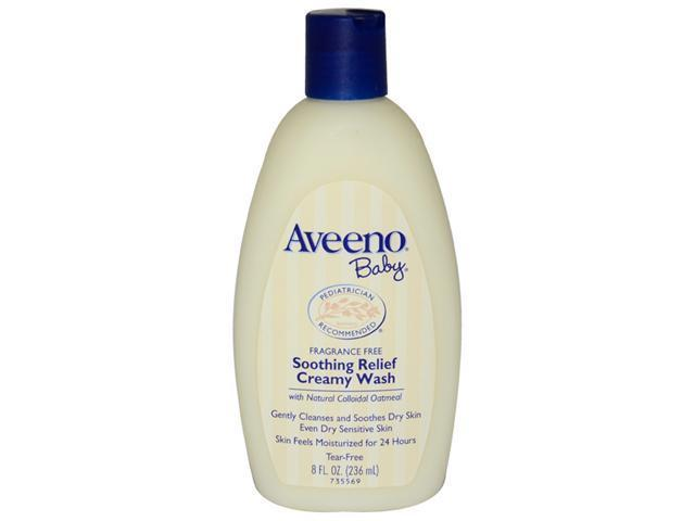 Baby Soothing Relief Creamy Wash by Aveeno for Kids - 8 oz Body Wash