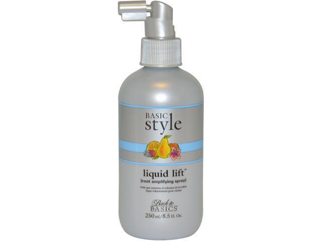 Basic Style Liquid Lift Root Amplifying Spray by Back to Basics for Unisex - 8.5 oz Spray