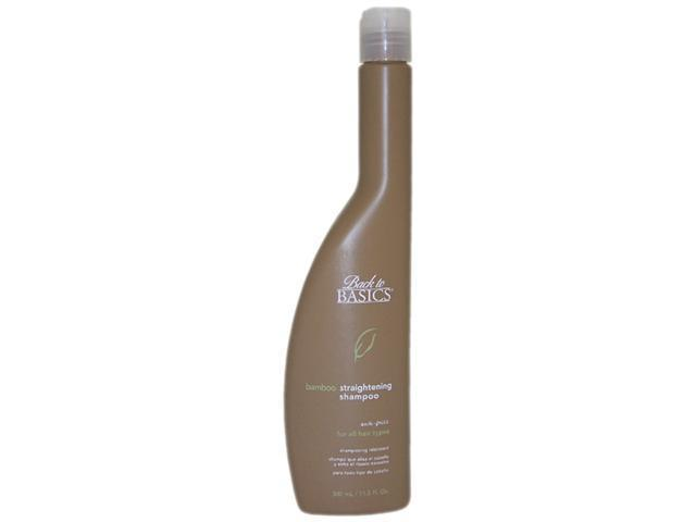 Back to Basics Bamboo Straightening Shampoo Anti-Frizz 11.5 oz