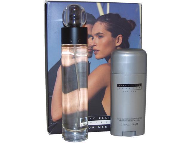 Reserve by Perry Ellis for Men - 2 Pc Gift Set 3.4oz EDT Spray, 2.75oz Alcohol Free Deodorant Stick