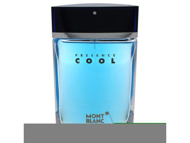 Mont Blanc Presence Cool by Montblanc for Men - 2.5 oz EDT Spray (Tester)