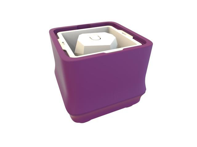 U-CUBE Bamboo Series Polar Ice Tray - Purple