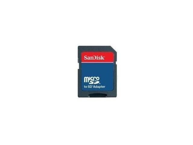 Sandisk MicroSD & MicroSDHC to SD Adapter (Static Pack) - OEM