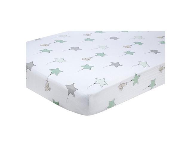 aden + anais Classic Muslin Fitted Crib Sheet (Up Up and Away)