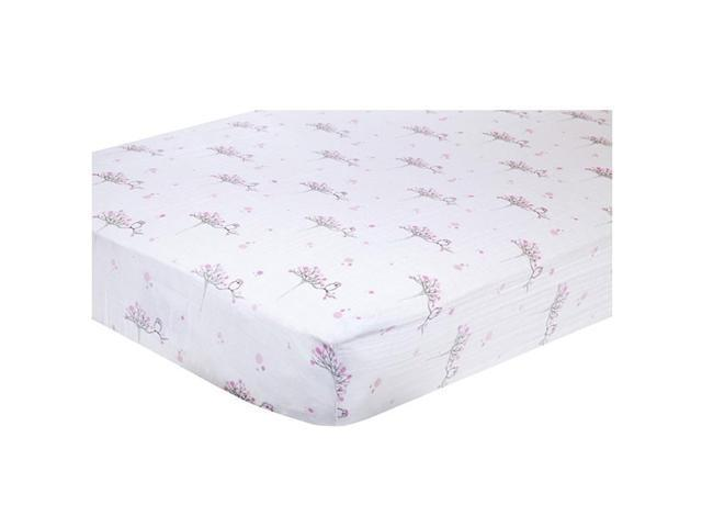 aden + anais Classic Muslin Fitted Crib Sheet (For the Birds- Owl)
