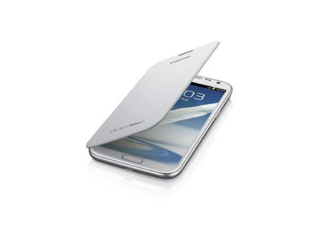 Samsung Galaxy Note 2 Flip Cover Case (marble White)