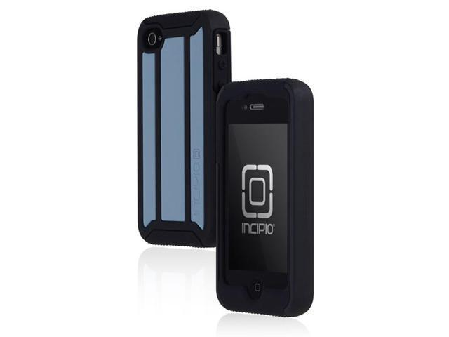 Incipio Delta Case Cover for Apple iPhone 4/4S Blue Black - Verizon - Sprint - AT&T - OEM