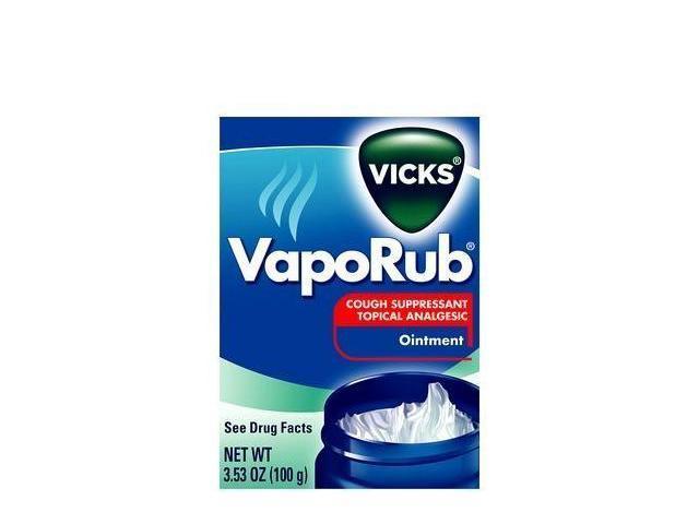 Vicks VapoRub Cough Suppressant/Topical Analgesic, Ointment, 3.53 oz.