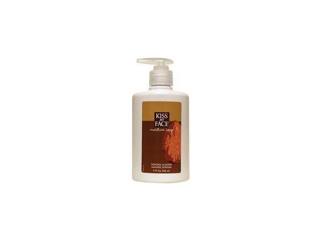 Moisture Soap Liquid-Sonora Almond - Kiss My Face - 9 oz - Liquid