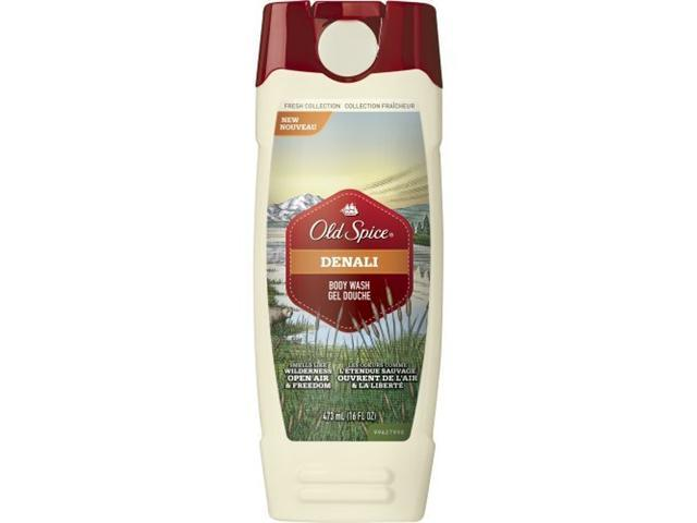Old Spice Fresh Collection Denali Body Wash, 16-Ounce (Pack of 3)
