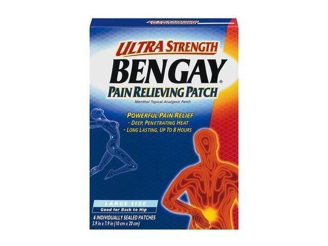 Bengay Ultra Strength Large Size  4-Count