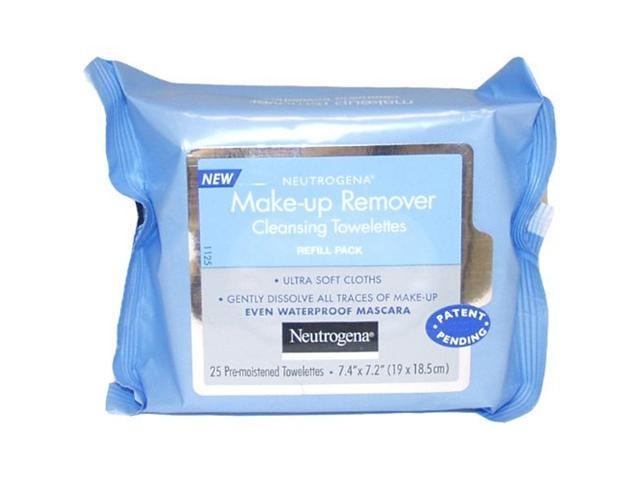 Neutrogena Makeup Remover Cleansing Towelettes, Refill Pack, 25 Count [Misc.]