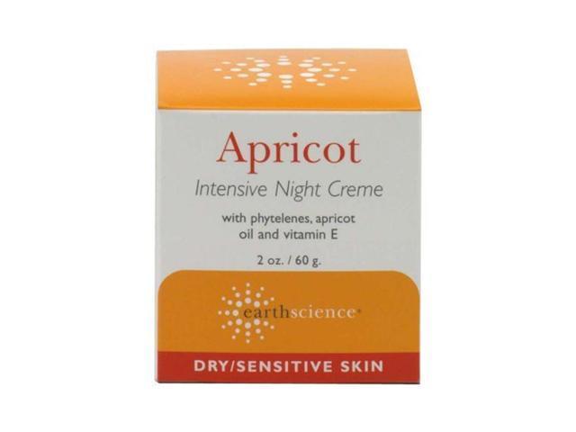 Apricot Night Cream - Earth Science - 1.65 oz - Cream
