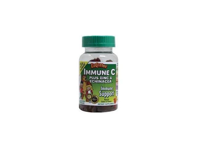 L'il Critters Immune C, Plus Zinc & Echinacea, Gummy Bears, 60 ct.