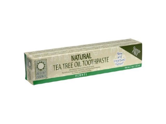 Toothpaste-Tea Tree Oil With Fennel - Desert Essence - 6.4 oz - Paste