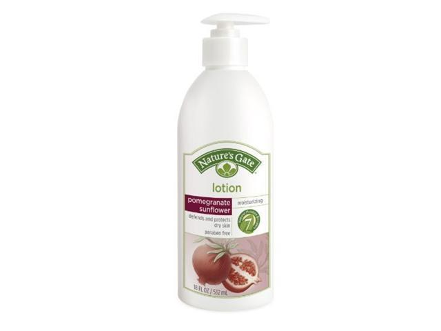 Pomegranate Sunflower Skin Defense Lotion - Nature's Gate - 18 oz - Lotion