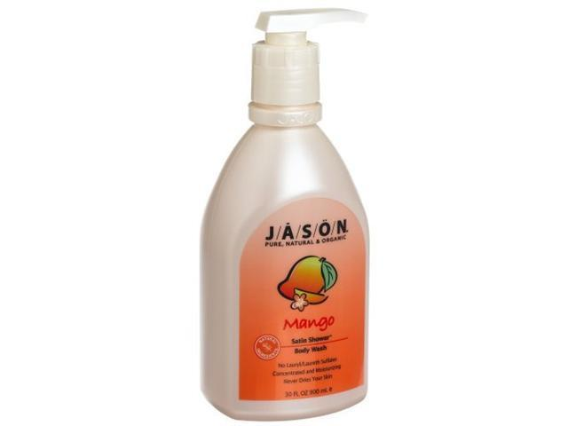 Softening Mango Body Wash - Jason Natural Cosmetics - 30 oz - Liquid