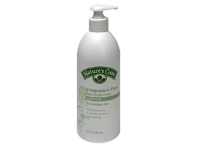 Fragrance Free Lotion - Nature's Gate - 18 oz - Lotion