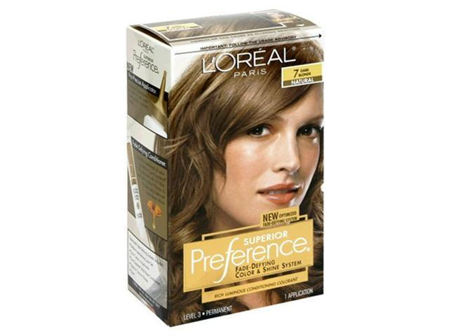 Superior Preference Rich Luminous Conditioning Colorant, Level 3 Permanent, Dark Blonde/natural 7 (Pack of 3)