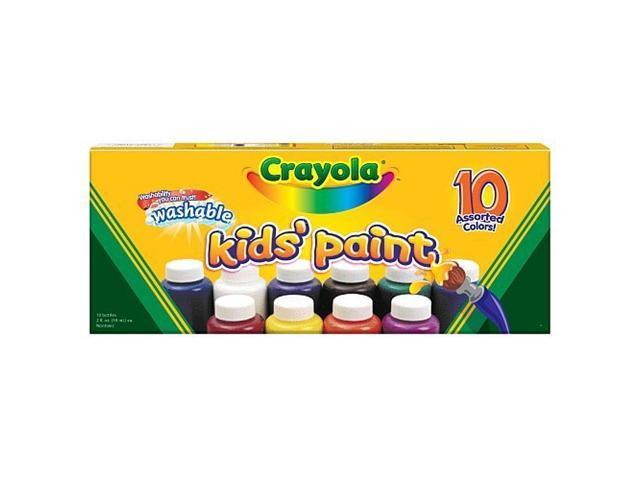 WASHABLE KIDS PAINT BOTTLES Size: 10