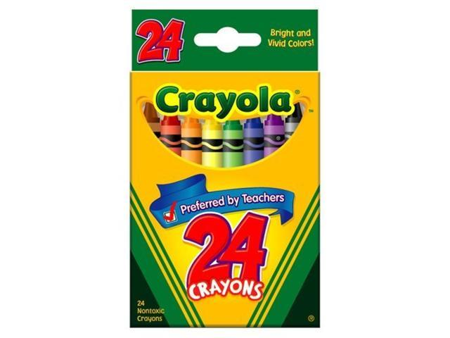 Classic Color Pack Crayons 24 Colors/Box