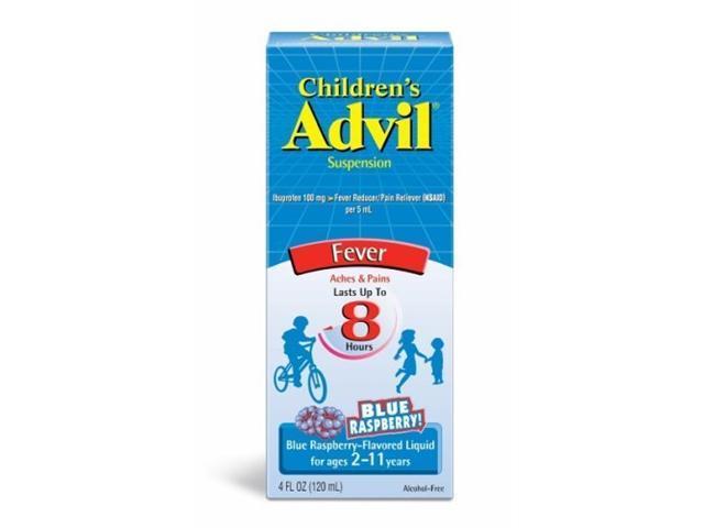 Advil Children's Suspension Blue Raspberry 4 oz.