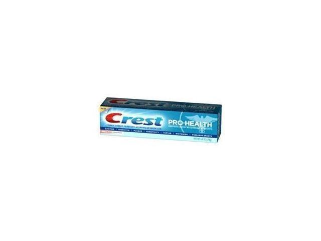 Crest Pro-Health Fluoride Toothpaste for Anticavity, Antigingivitis and Sensitive Teeth, Clean Cinnamon, 6 oz.