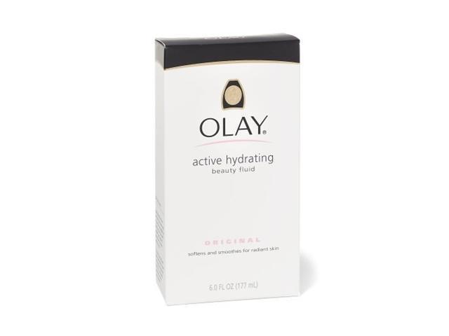 Olay Beauty Fluid, Active Hydrating, Original, 6 oz.