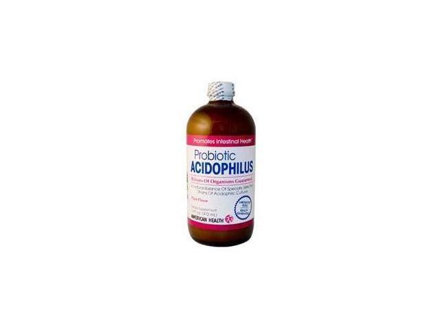 Acidophilus Culture Plain - American Health Products - 16 oz - Liquid