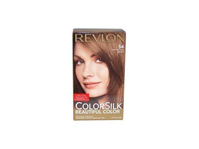 Revlon ColorSilk Beautiful Color 54 Light Golden Brown