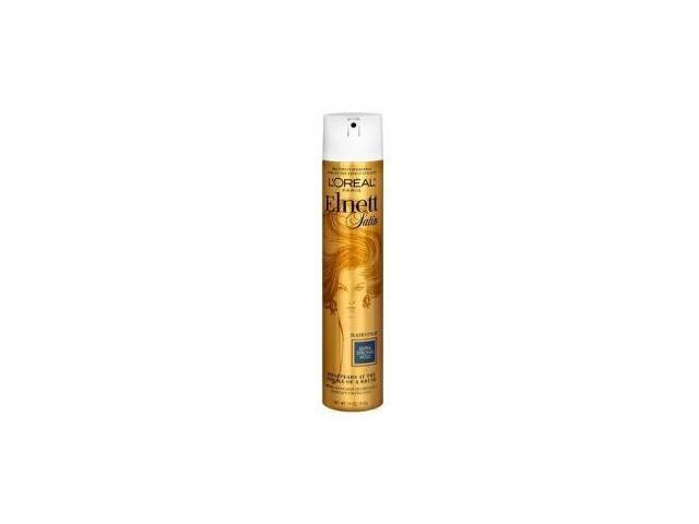 L'Oreal Paris Elnett Satin Hairspray, Extra Strong Hold, 11 Ounce