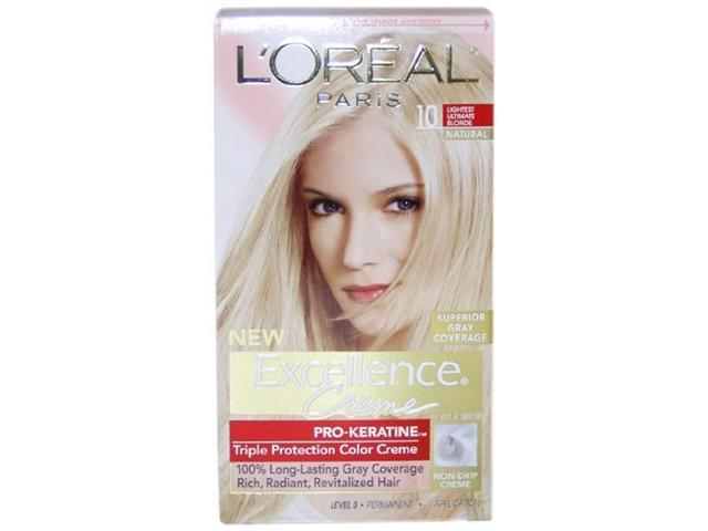 Excellence Creme Pro - Keratine # 10 Light Ultimate Blonde - Natural - 1 Application Hair Color