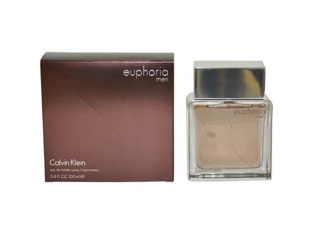 Euphoria Men by Calvin Klein for Men, Eau De Toilette Spray, 3.4 Ounce