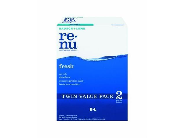 Bausch & Lomb ReNu MultiPlus Multi-Purpose Solution, 2-Count, 12-Ounce Bottles