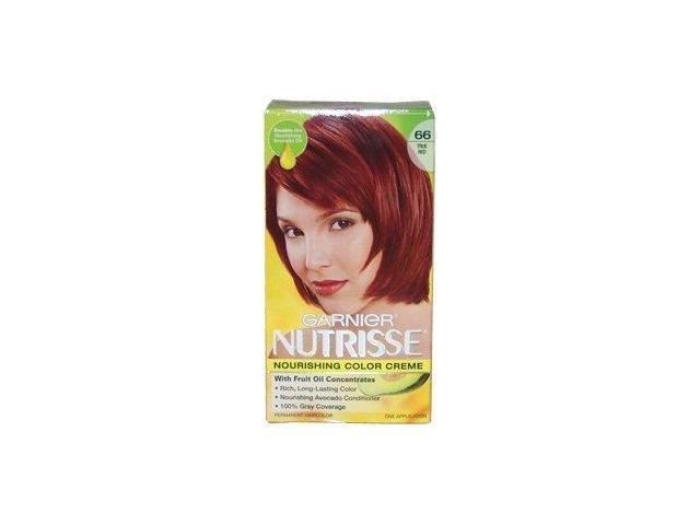 Nutrisse Nourishing Color Creme #66 True Red - 1 Application Hair Color