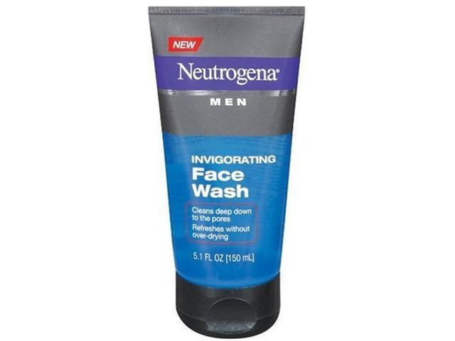 Neutrogena Men Invigorating Face Wash, 5.1 Ounce