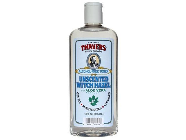 Witch Hazel Unscented with Aloe Vera 12 Ounces