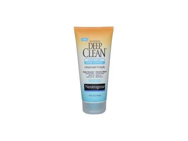 Neutrogena Deep Clean Long Last Shine Control Cleanser & Mask-6 oz