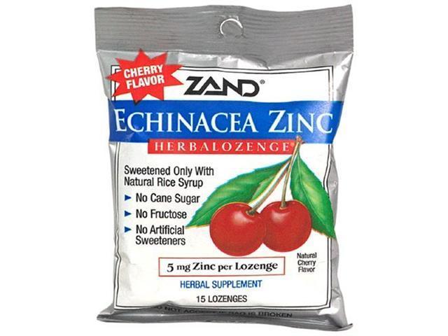 Herbal Lozenge-Echinacea Zinc, Cherry Flavor - 15 - Lozenge