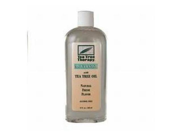 Mouthwash-Tea Tree Alcohol Free - Tea Tree Therapy - 12 oz - Liquid