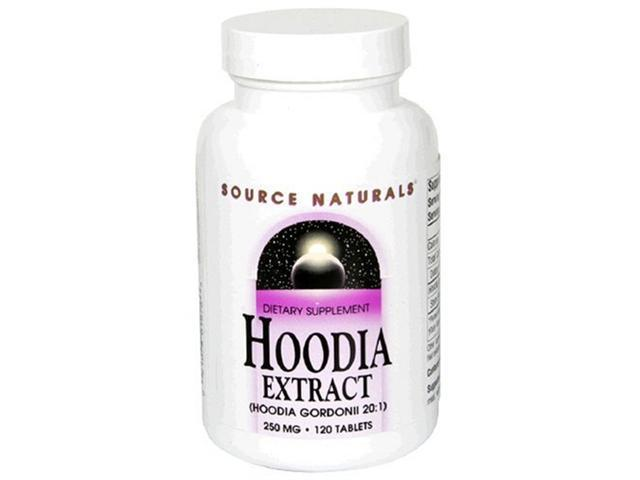 Source Naturals Hoodia Concentrate 250mg, 120 Tablets